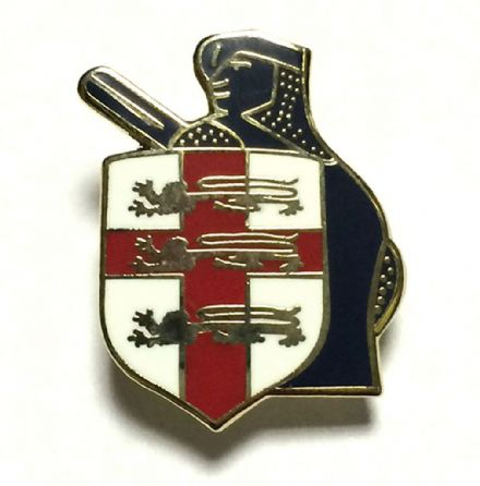 Crusader England Lapel Badge